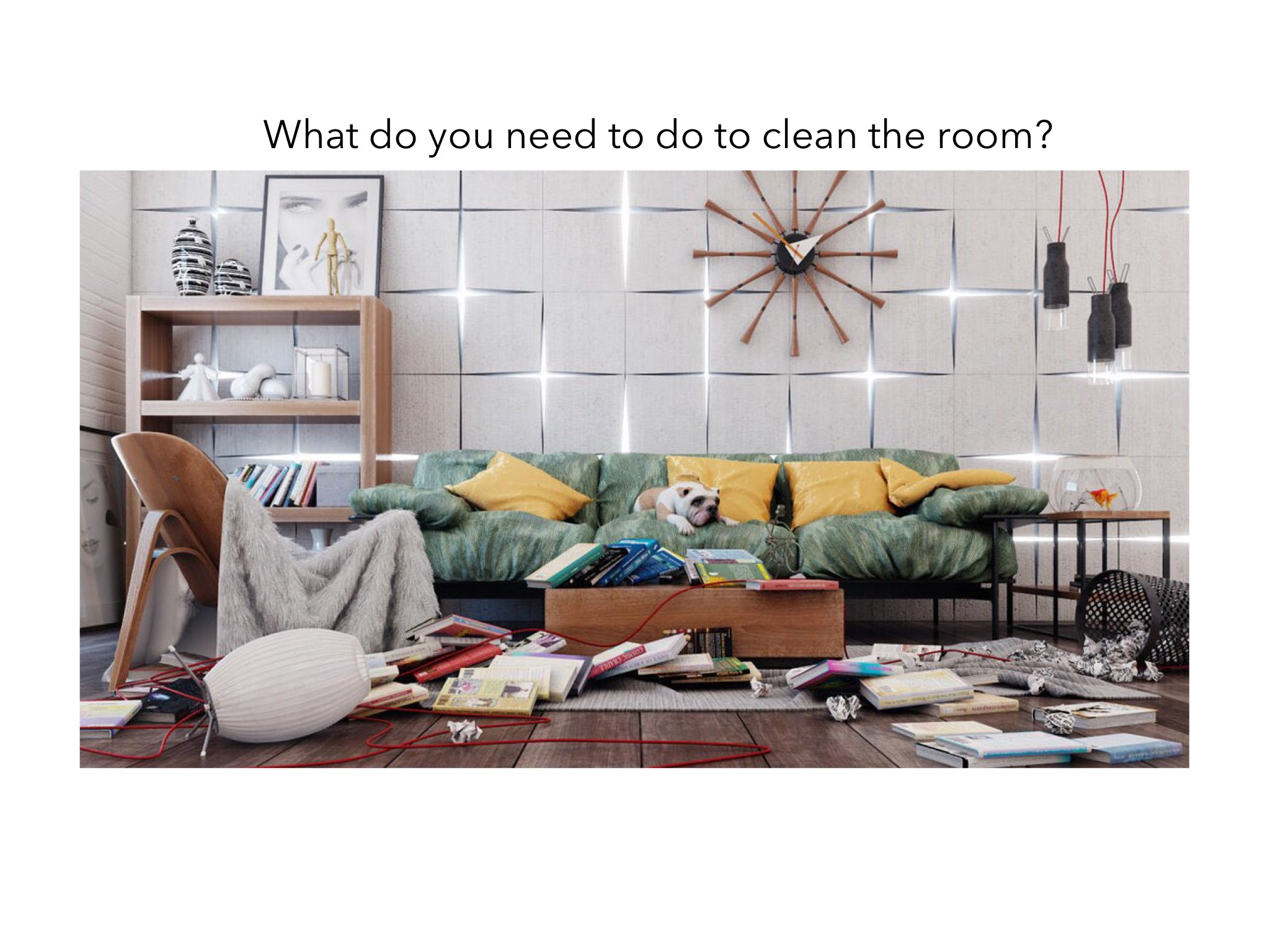 Play Messy Rooms Problem Solving by Jen Biener - on TinyTap