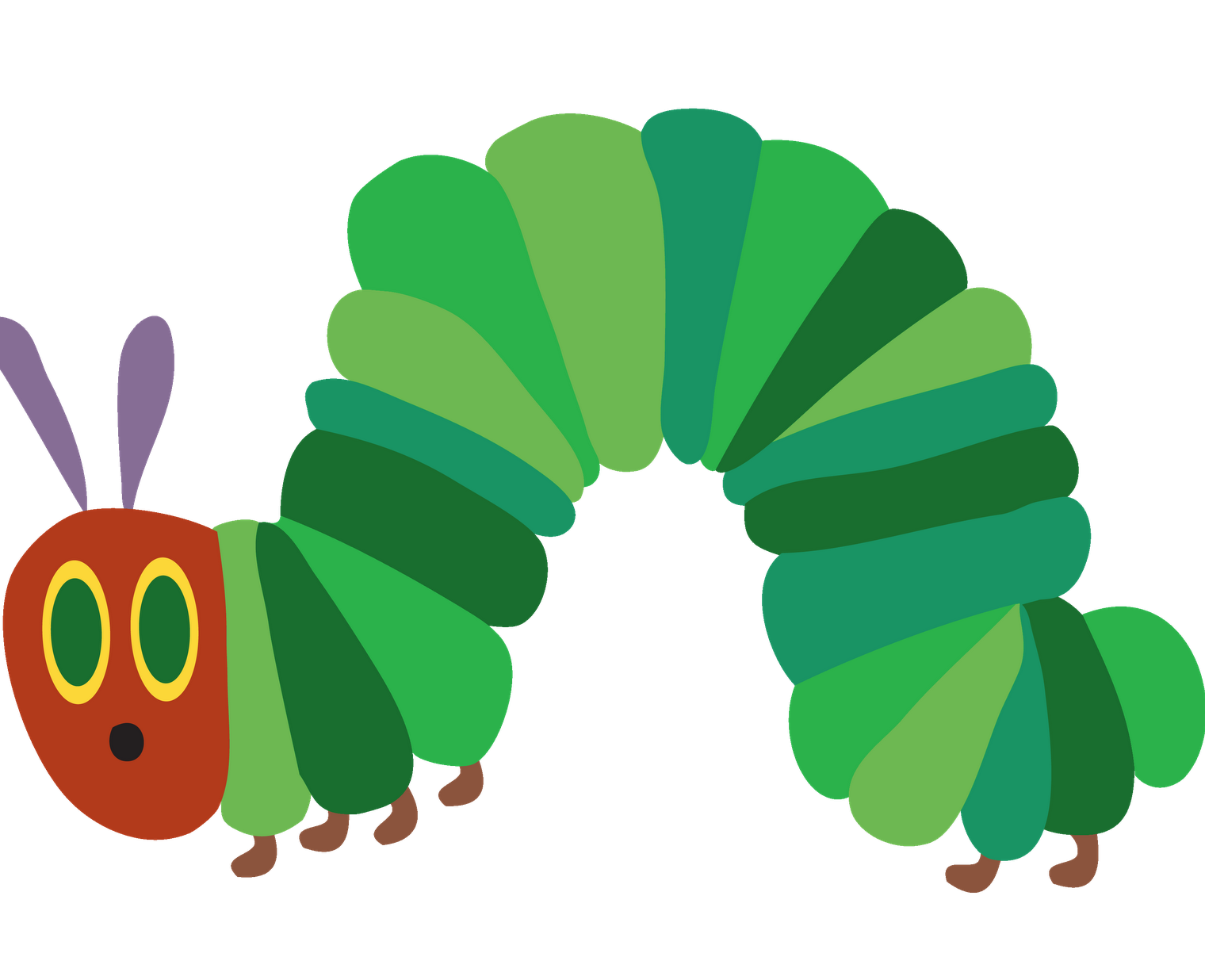 Image result for hungry caterpillar clipart