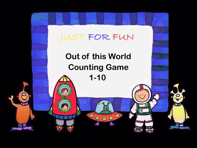out of this world counting 1 10 a game that reinforces counting and number recognition through questioning activities using adorable space characters - Letter Garden Game