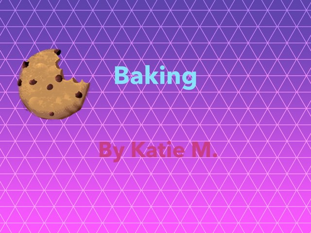 Baking by Courtney Durbin - Educational Games for Kids on