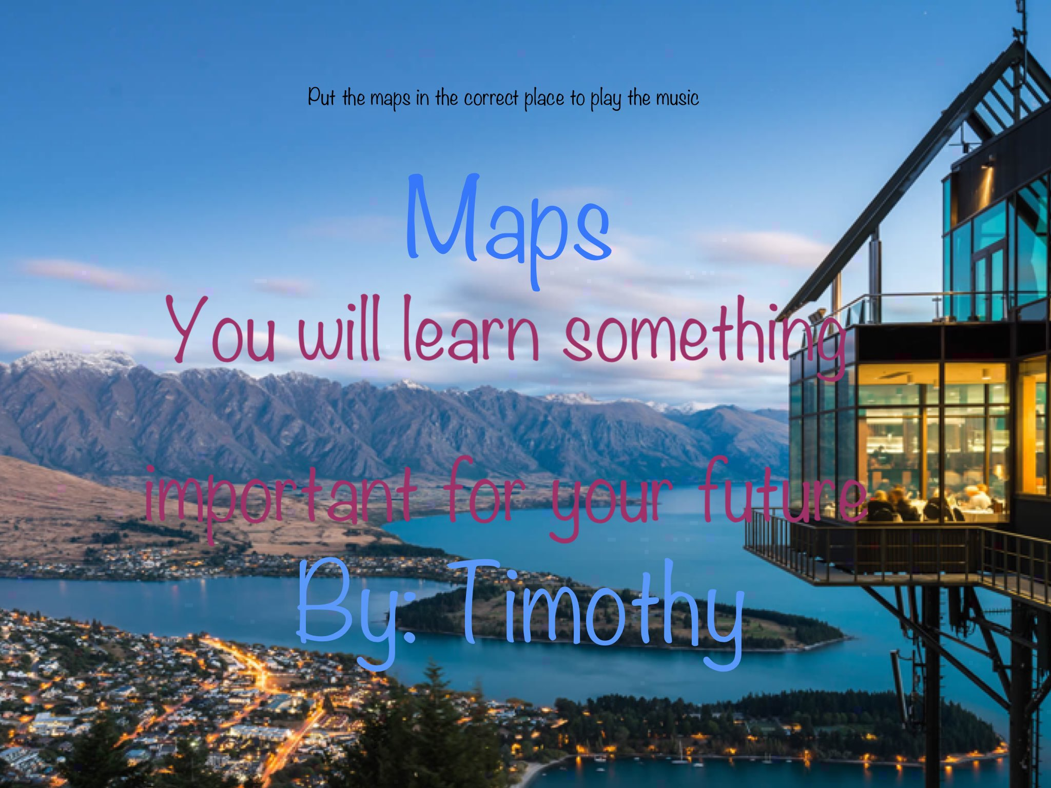 Social Map Game by Timothy Suryanto - Educational Games for