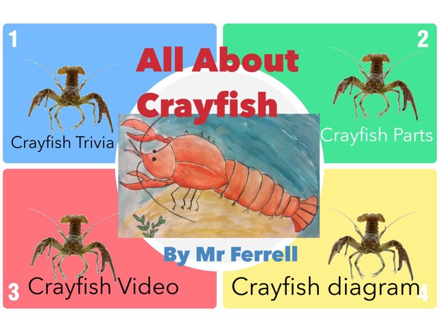 Play All About Crayfish By Keith Ferrell On Tinytap