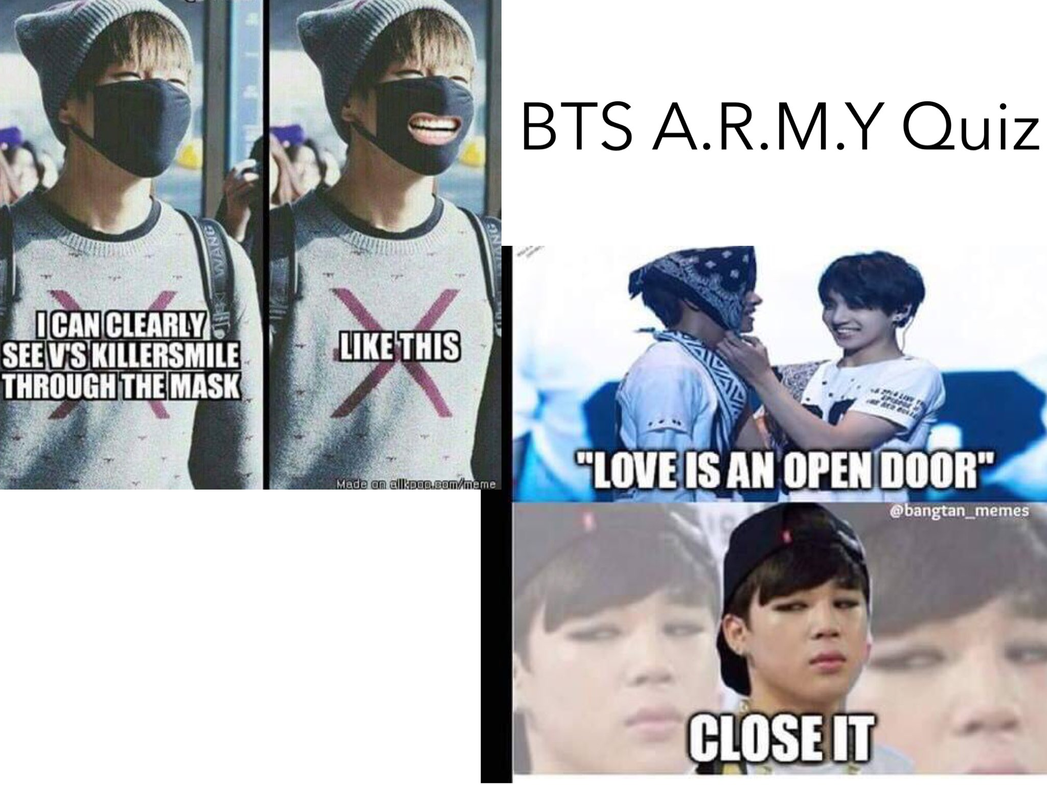 Play Bts A R M Y Quiz By Julie Yang On Tinytap