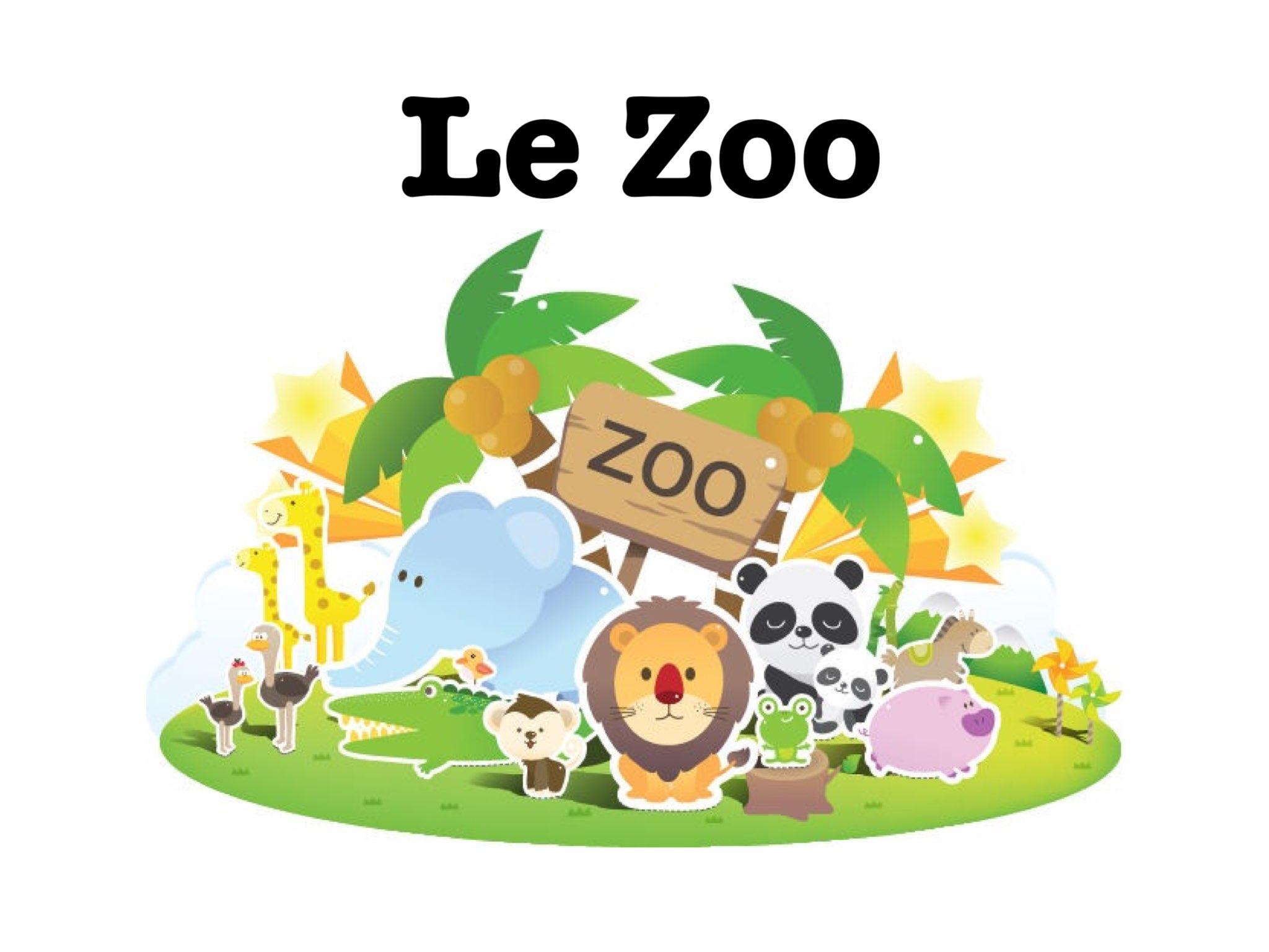 Resultado de imagen para Le zoo vocabulaire