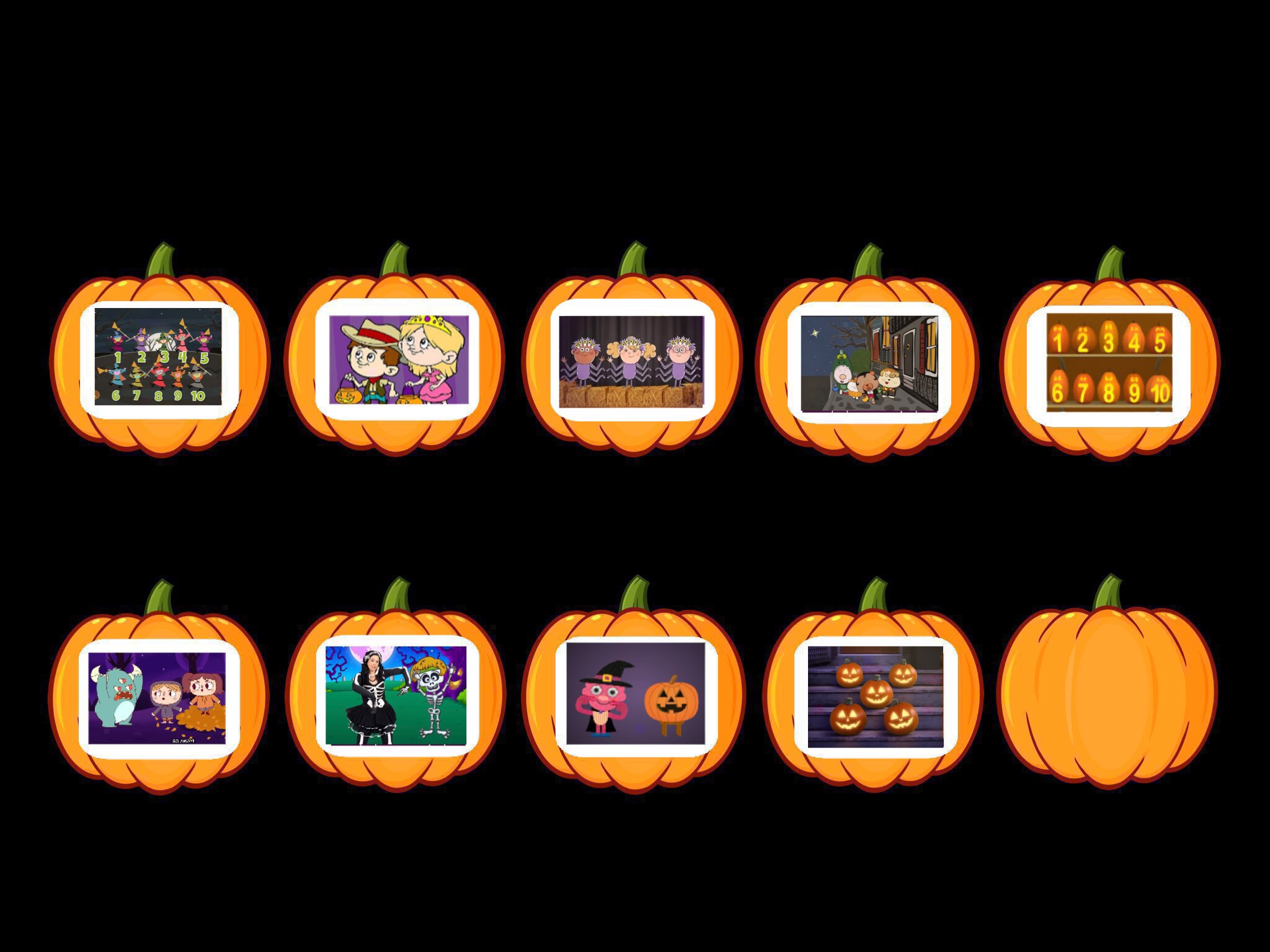 play halloween song videoscici lampe - on tinytap