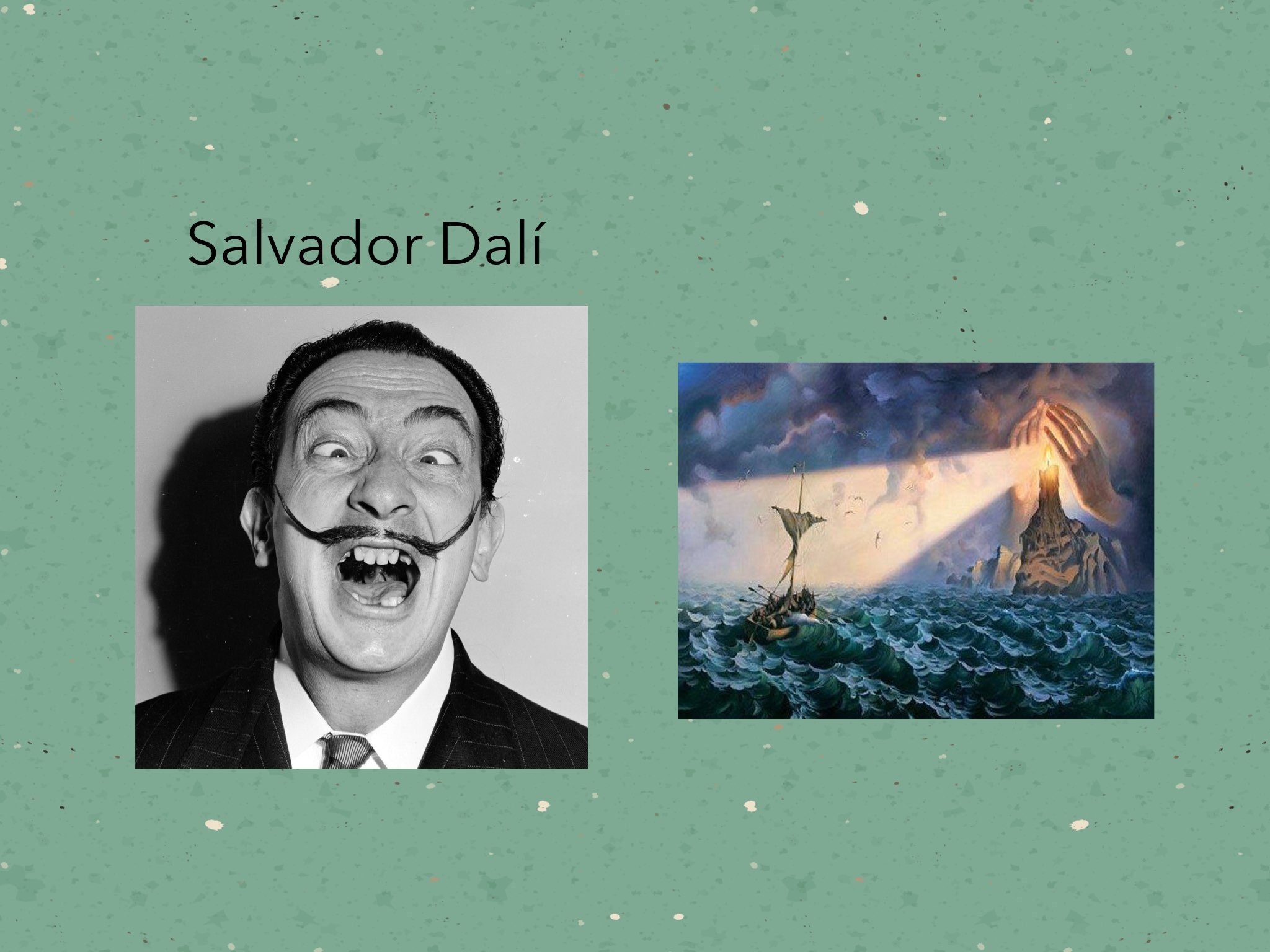 Salvador Dalí by Becca XOX - Educational Games for Kids on