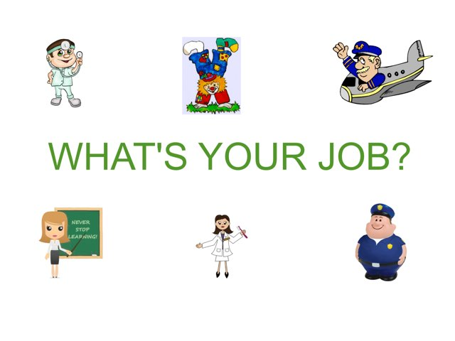 JOBS by Sue Vega - Educational Games for Kids on TinyTap