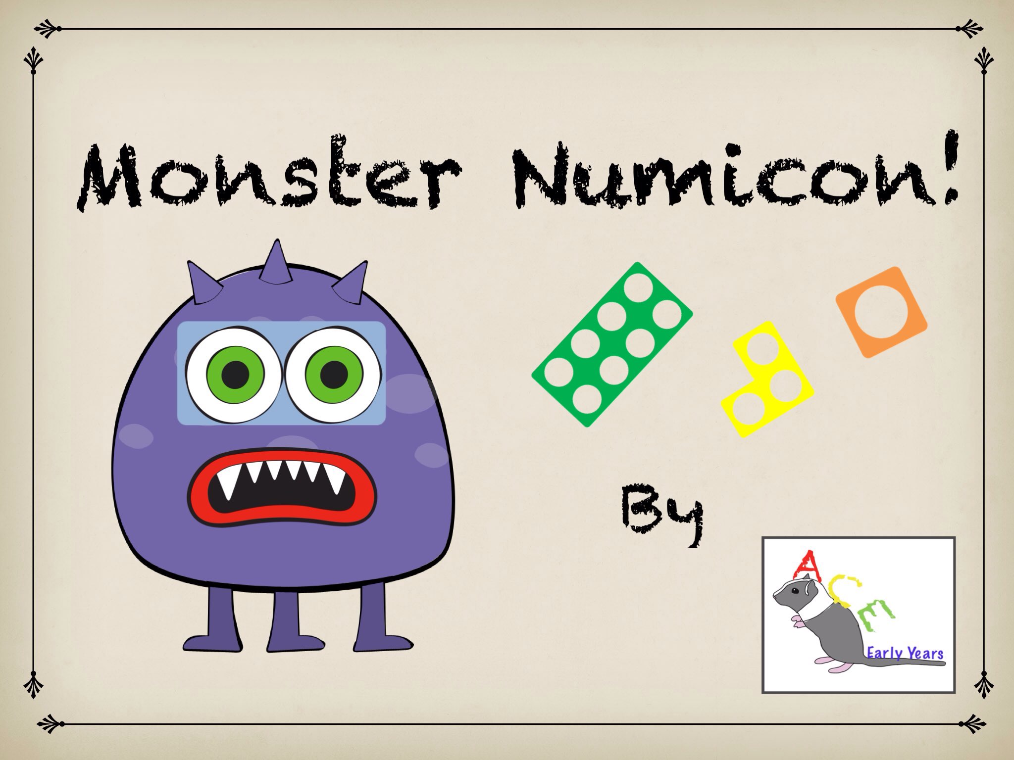 Play Monster Numicon - Counting made easy! by Ace Early Years - on ...
