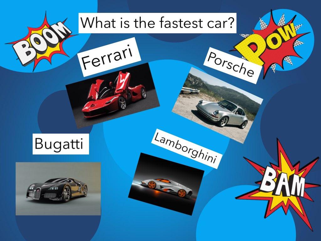 Play Car Quiz By Za Za On Tinytap